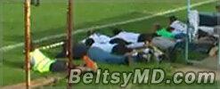 Бандита в Румынии задержали во время игры в футбол