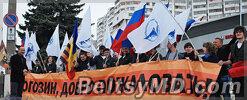 Рогозин в Молдове спрашивает: Куда же ВЫ идёте?