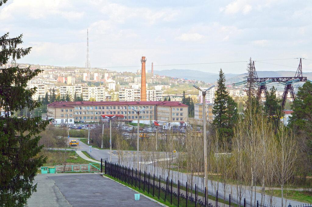 Город Златоуст. Красная Горка