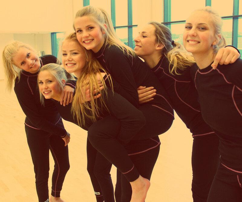 Школьницы из Норвегии