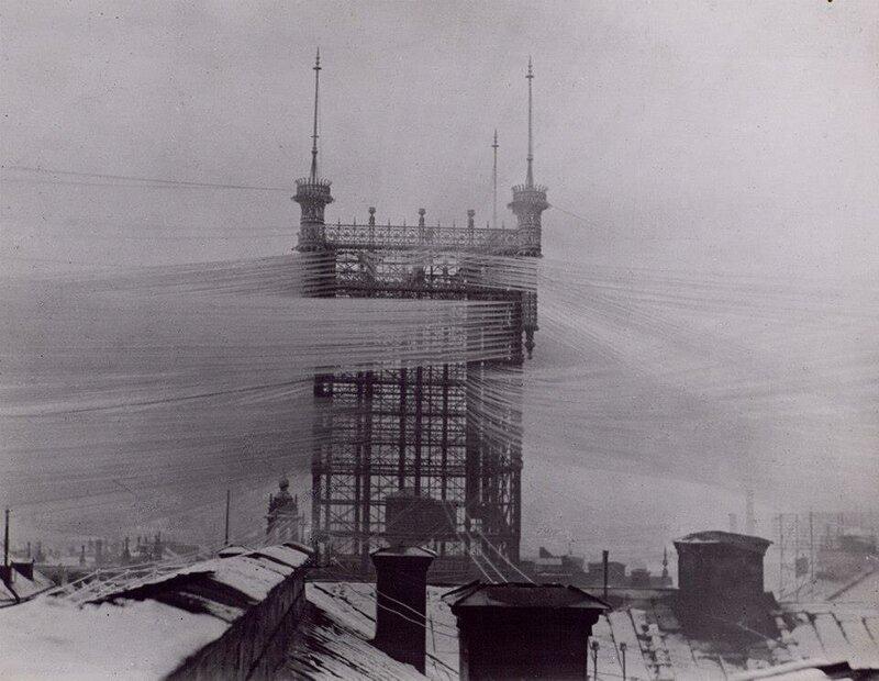 Старая телефонная станция Стокгольма