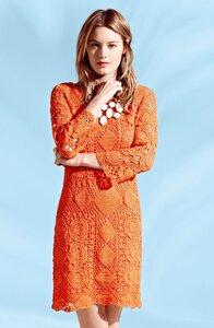 Тигровая лилия Trina Turk - платье крючком