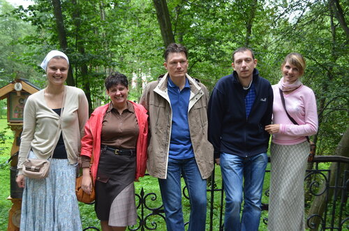 Семейные клубы трезвости - паломничество в Серпухов