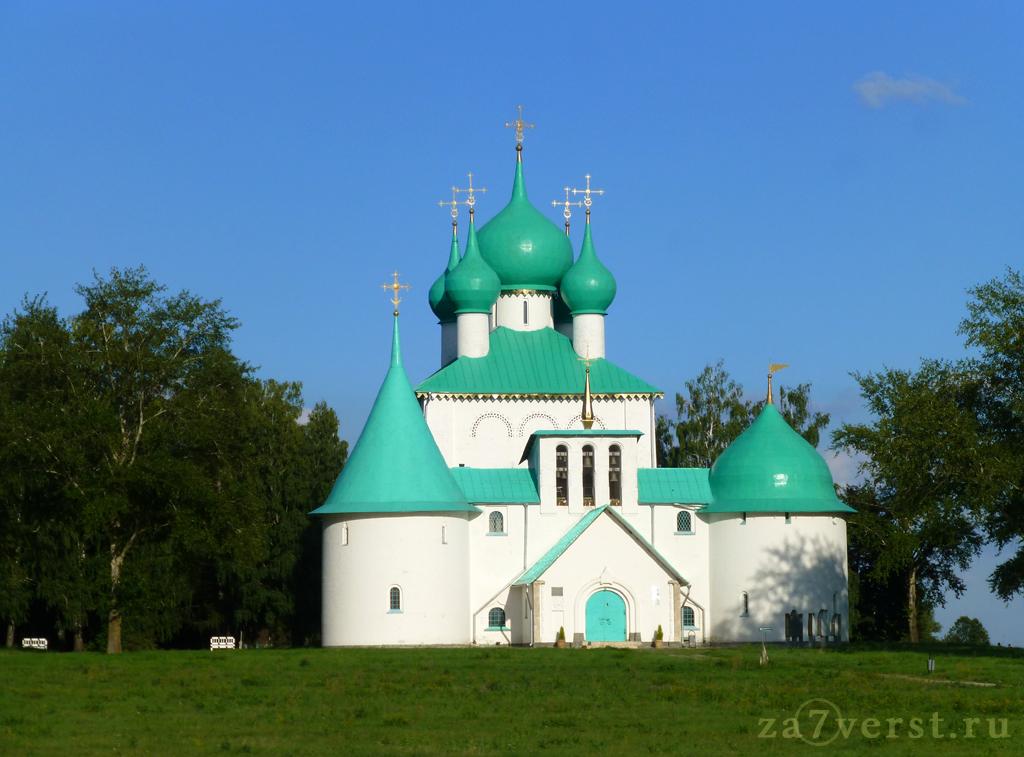 Храм преподобного Сергия Радонежского на Красном холме Куликова поля (Тверская область)