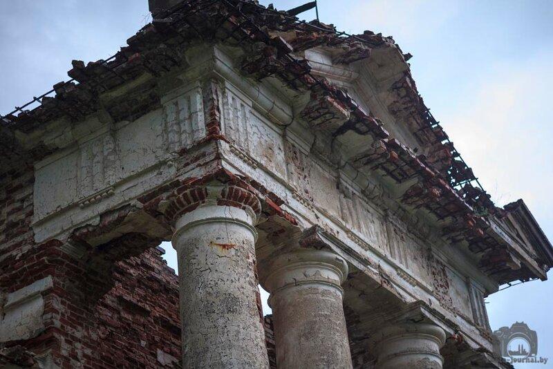 Разрушенный костел святого Казимира