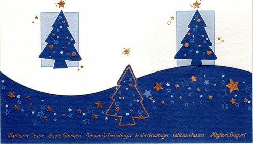 Ёлочки. С Новым годом! открытка поздравление картинка