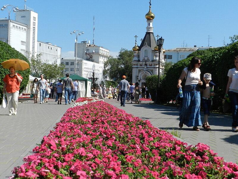 Екатеринбург отмечает 290-летний юбилей