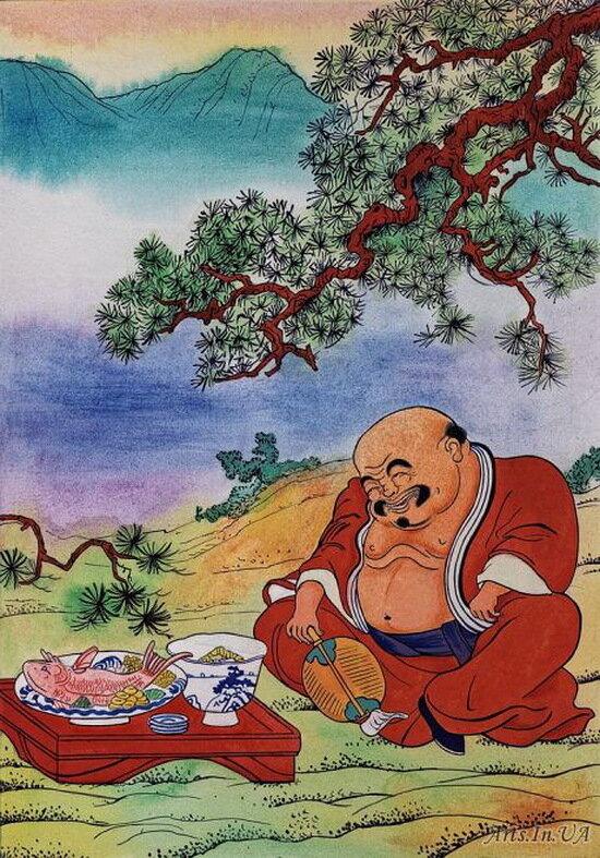 Японские народные сказки в картинках