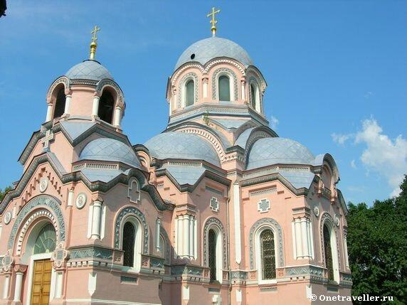 Церковь святителя Иоанна Златоуста в Донском монастыре в Москве (1888-1891 гг.)