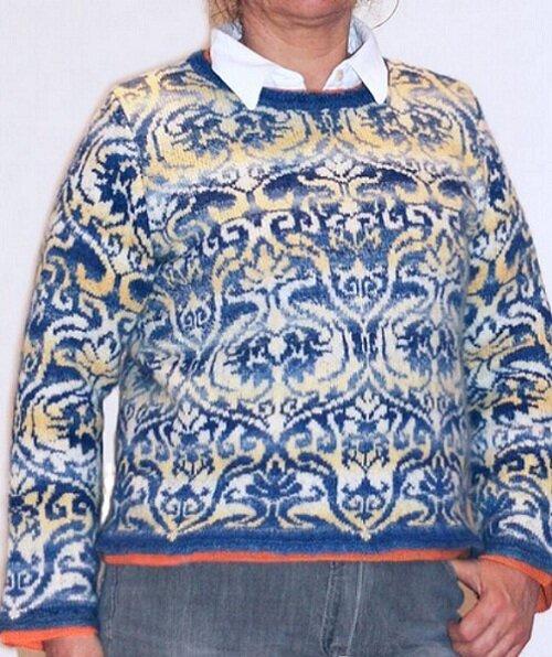 外网提花毛衣(64) - 柳芯飘雪 - 柳芯飘雪的博客