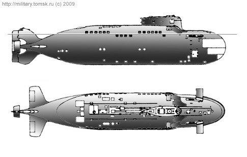 Подводная лодка МС-520 и