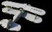 Чертеж модели самолёта Stampe SV4C
