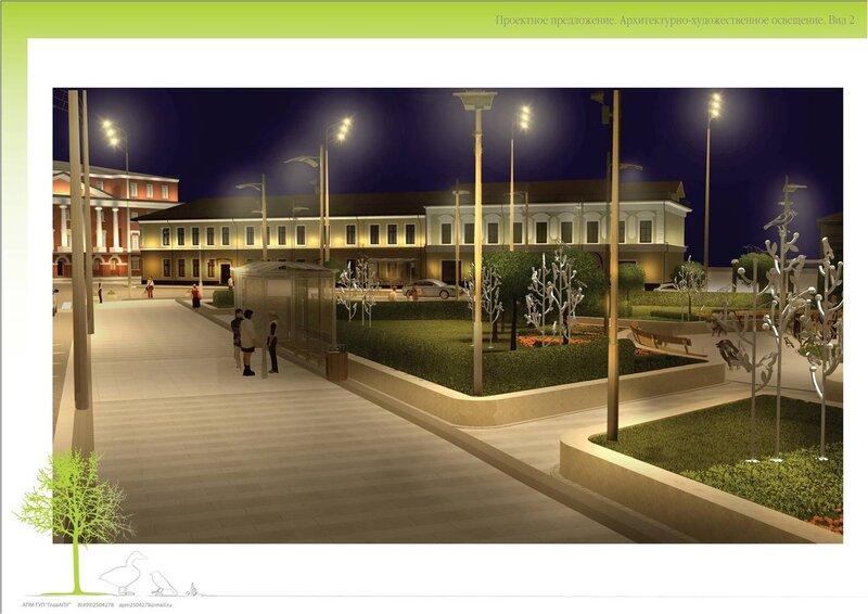Проект реконструкции сквера на площади Разгуляй. Рисунок 13