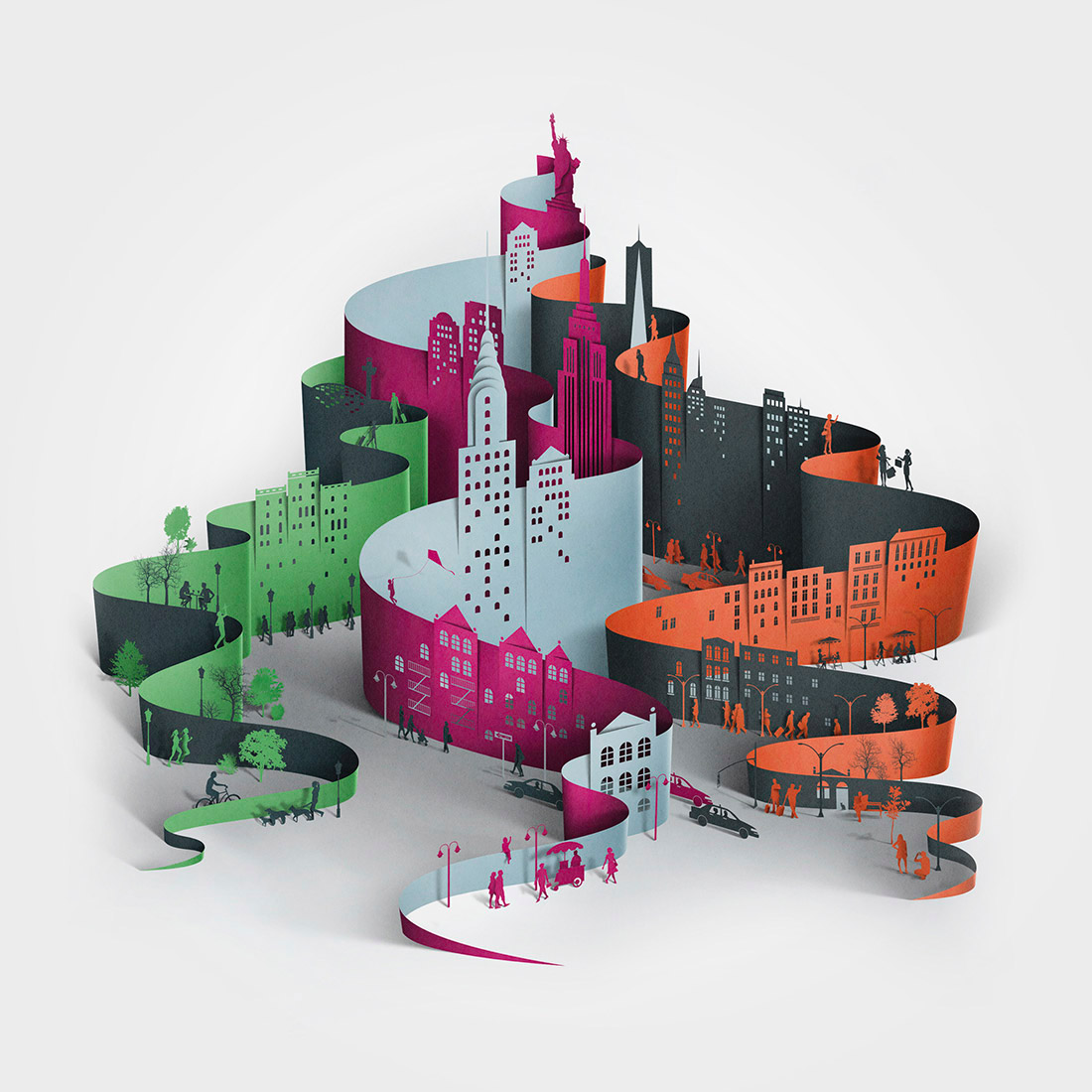 New Illustrations by Eiko Ojala