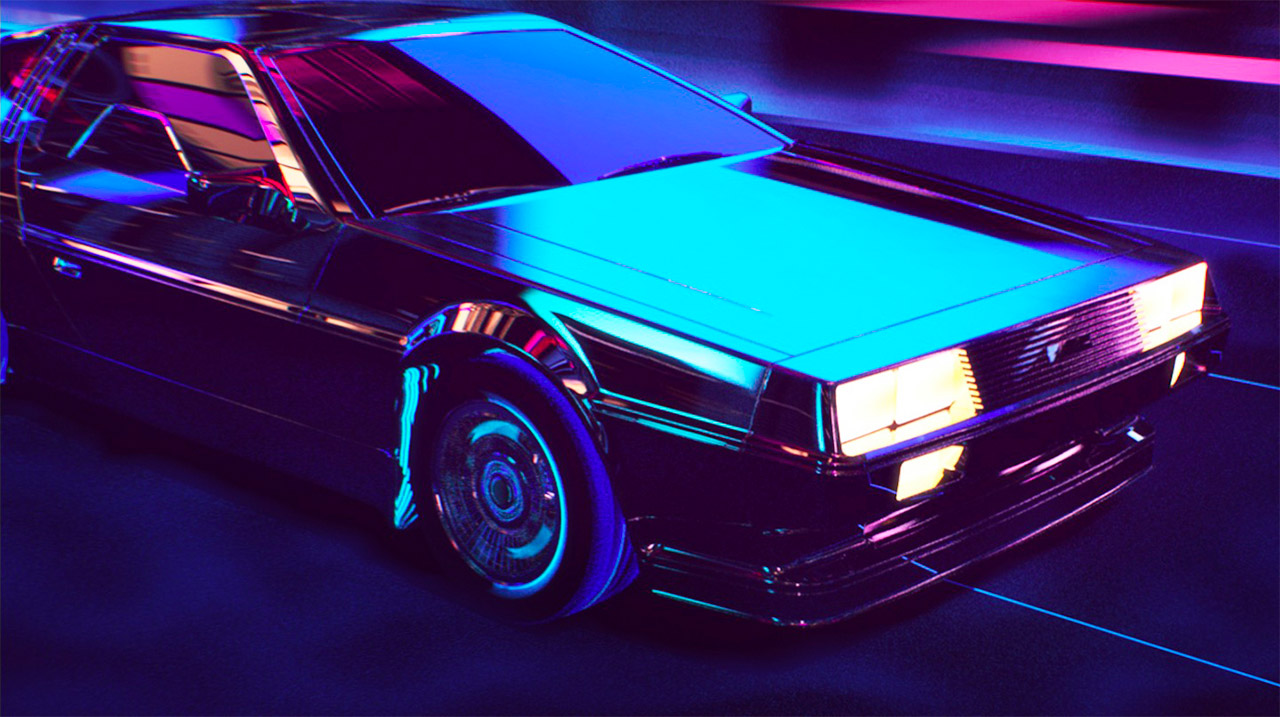 Retrowave: Short Animation by Florian Renner