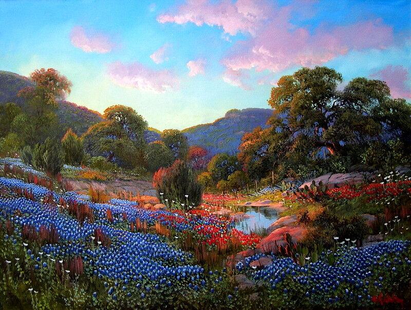 Как пахнет свежестью, как мир красив. Художник Kay Walton
