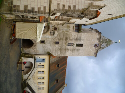 Чехия, замок Кршивоклат (Czech Republic, Křivoklát Castle)