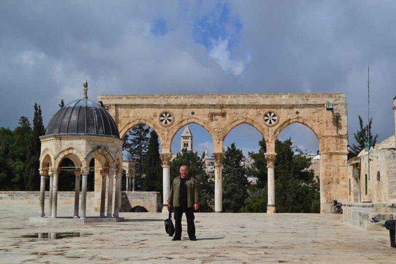 День восьмой. Храмовая гора мечеть Аль-Акса и Купол Скалы. Иерусалим. Израиль. 2013.
