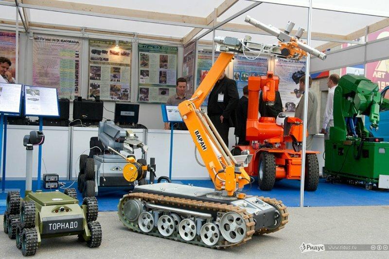 Разведывательно-ударная робототехническая система.