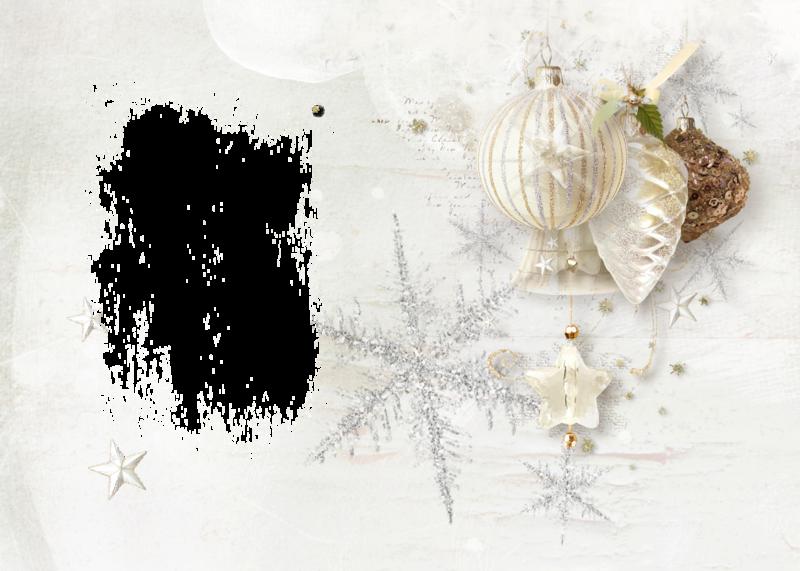 Винтажная новогодняя открытка в фотошопе, мемами