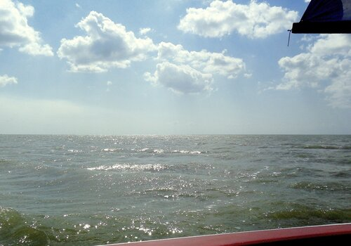Летом, на яхте