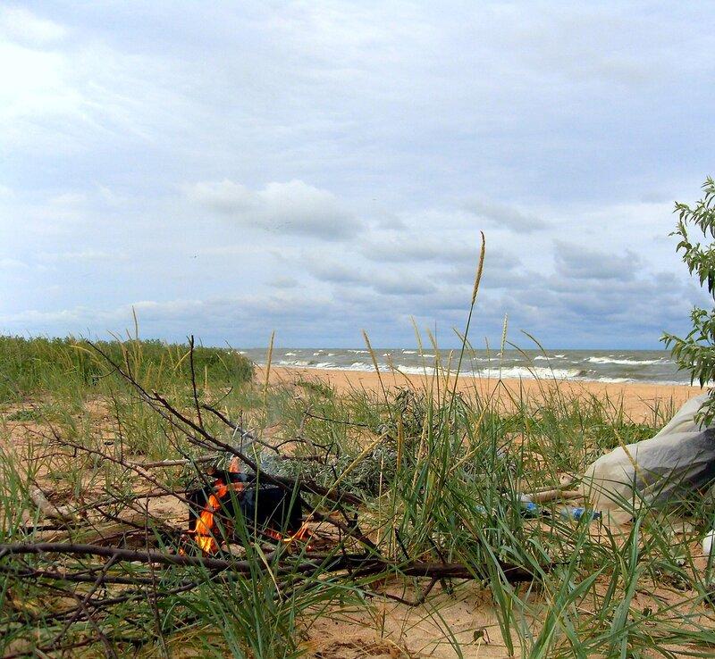 Летом, на Азовских песках