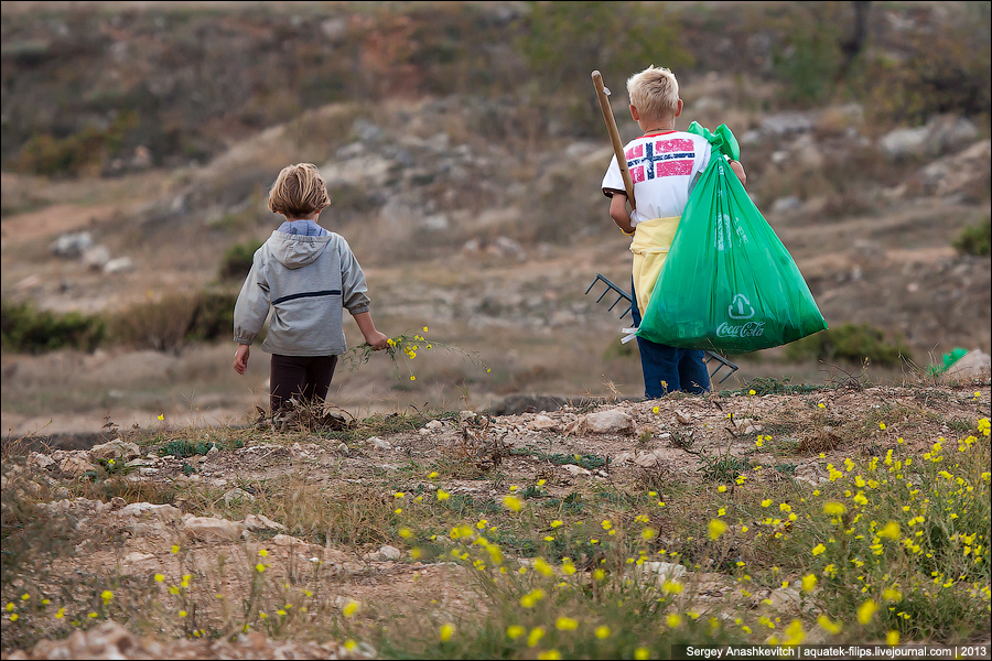 Блогер против мусора в Севастополе