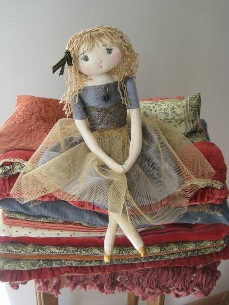 кукла на горошине