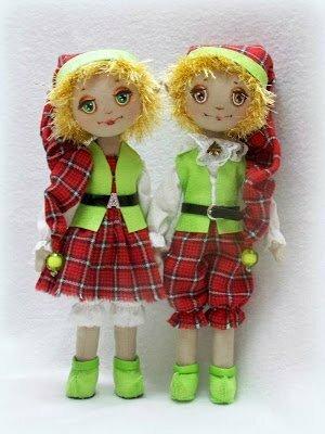 куклы новогодние