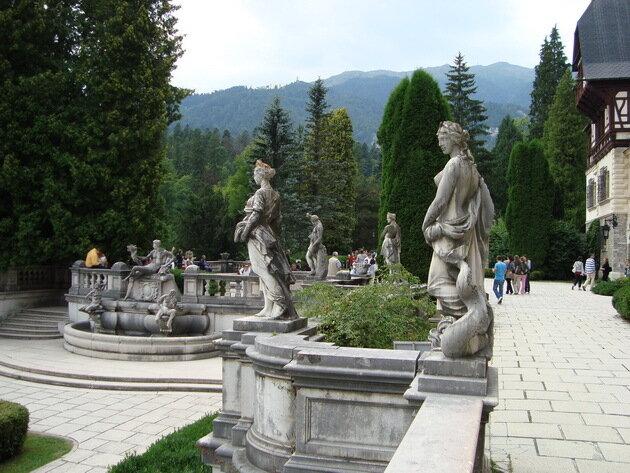 Замок Пелеш. Румыния