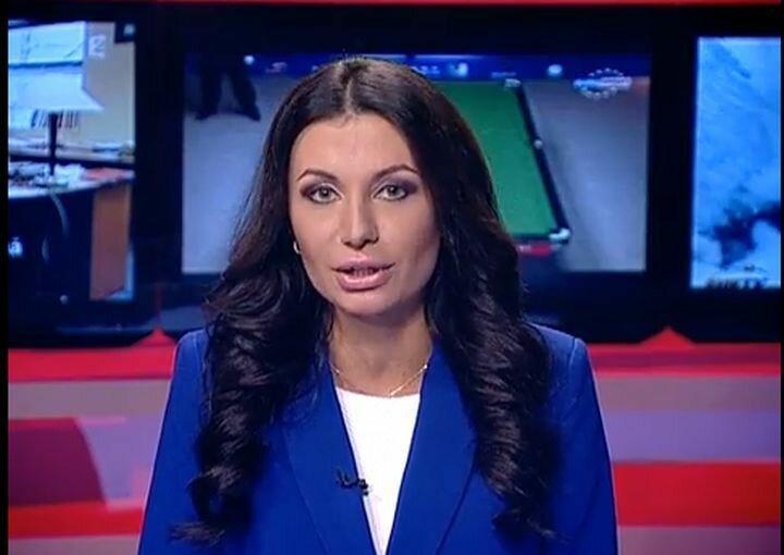 Ведущая молдавского телевидения Габриела Анточел жжёт