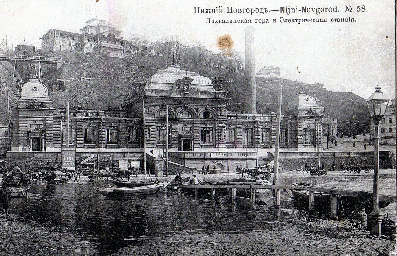 Похвалинская гора и Электрическая станция