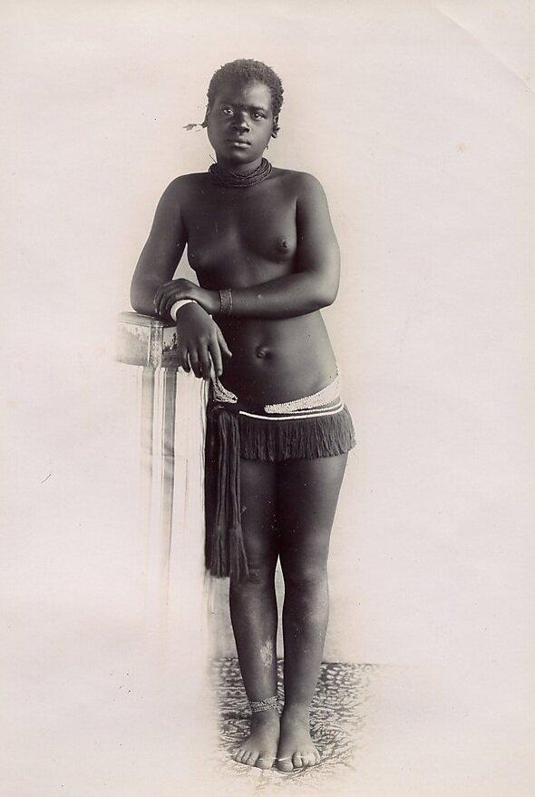 Девушка свази. Свазиленд последней трети XIX века