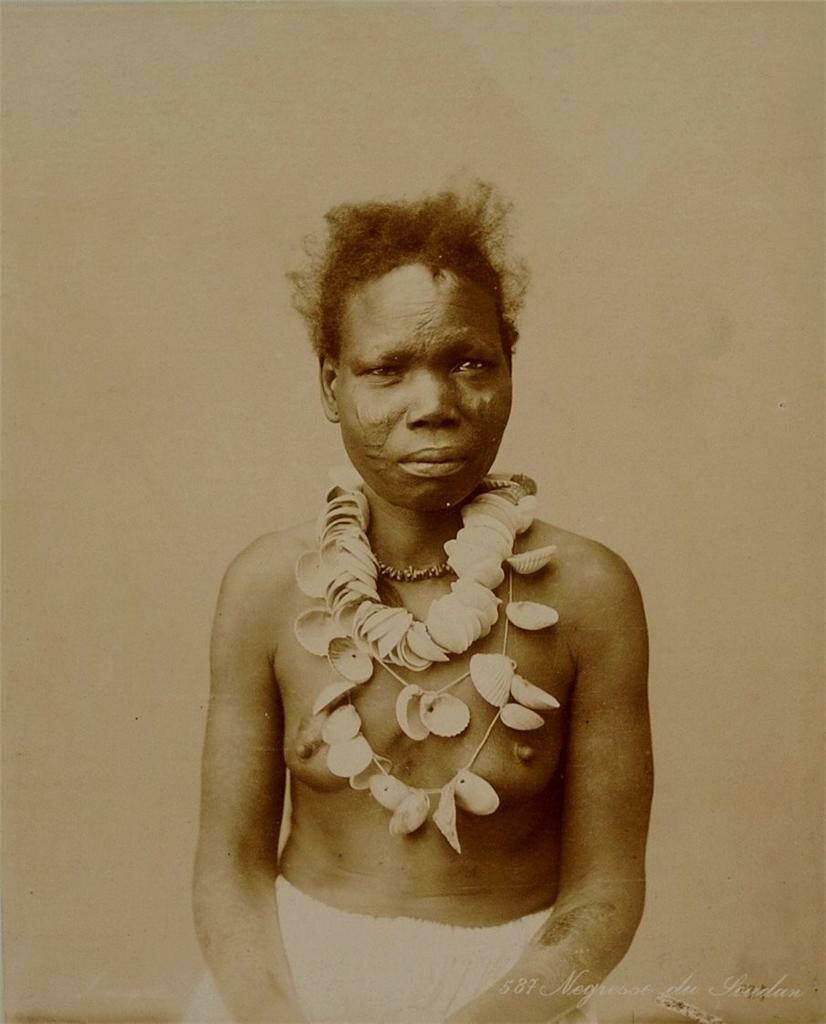 Женщина из Судана, конец XIX века