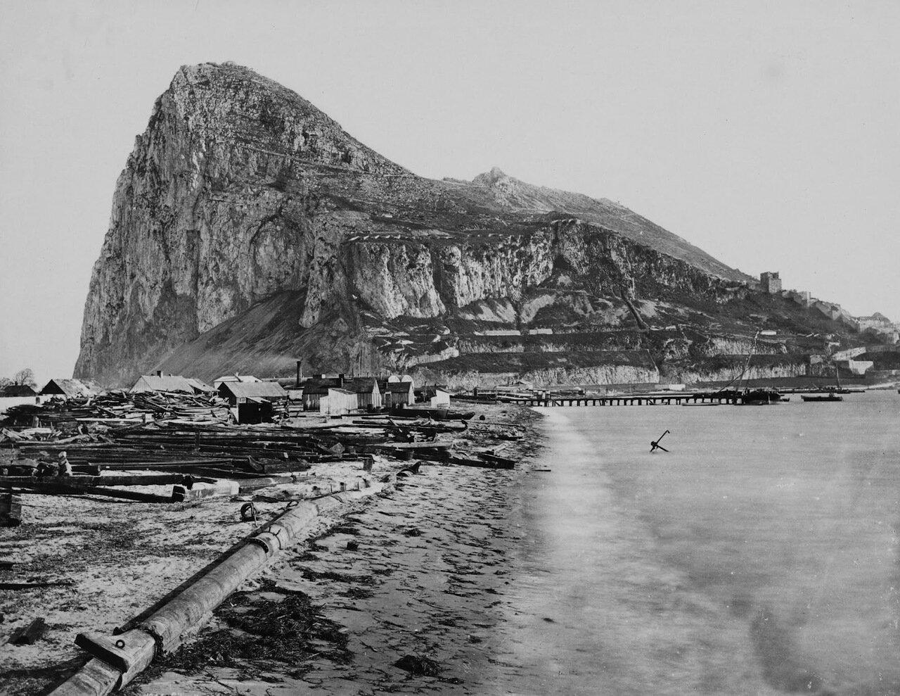 1850. Скала у западного берега, нейтральная территория