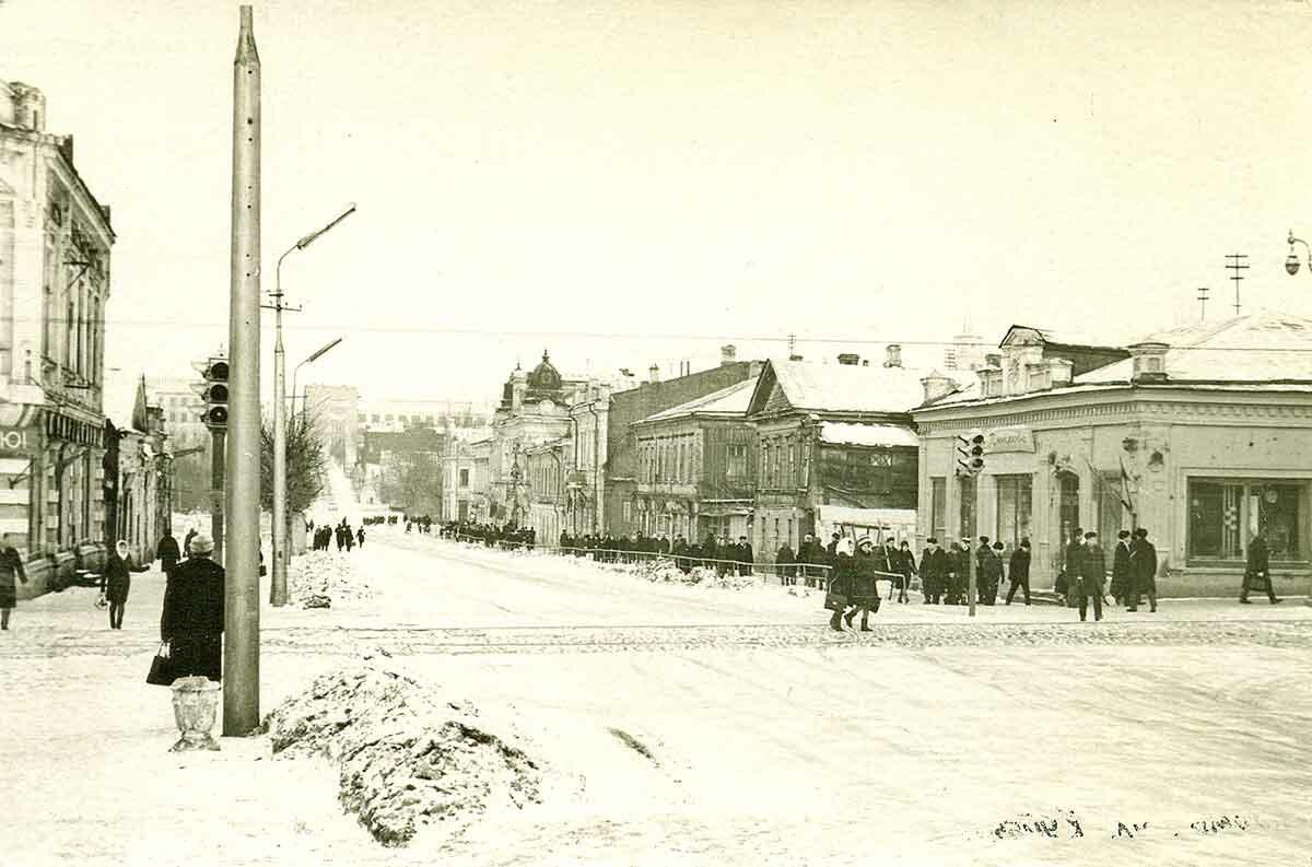 Панорама улицы Куйбышева, 1968 год
