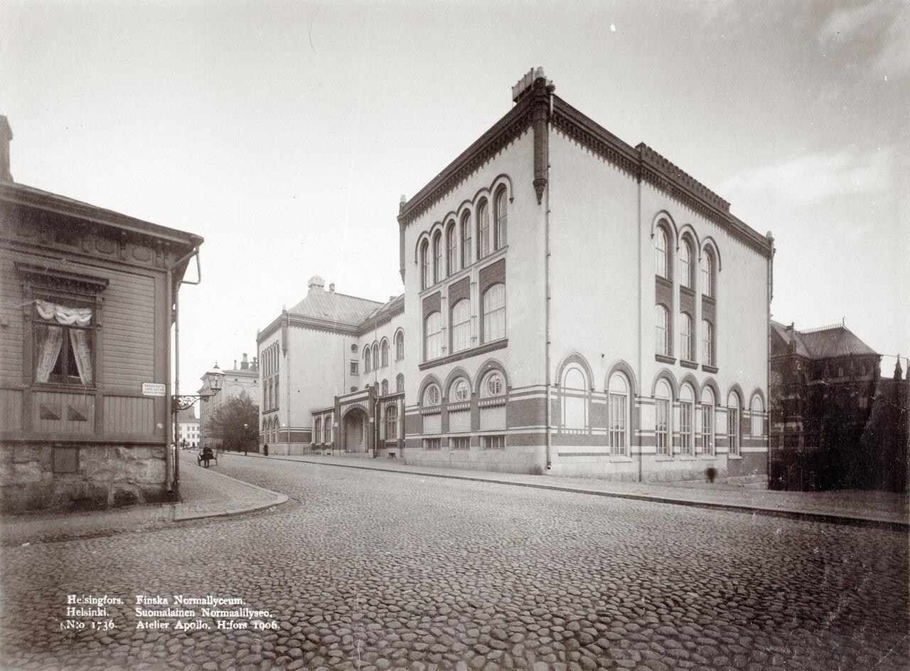 Гимназия, 1906