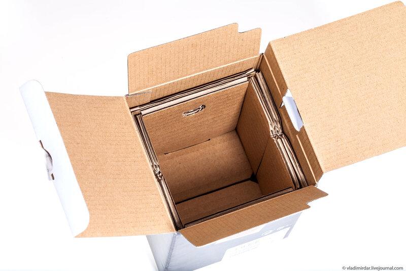 Упаковка изнутри