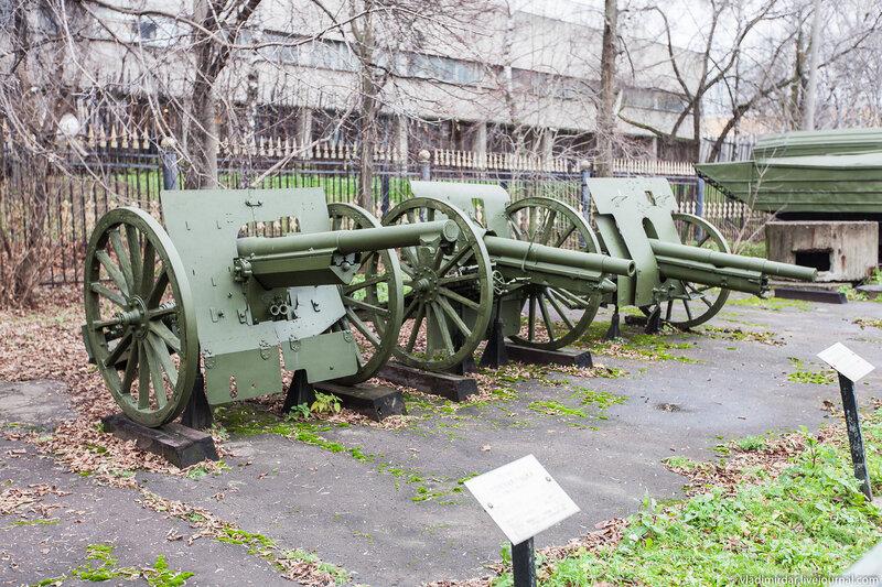 Полевые трофейные пушки периода Первой мировой войны