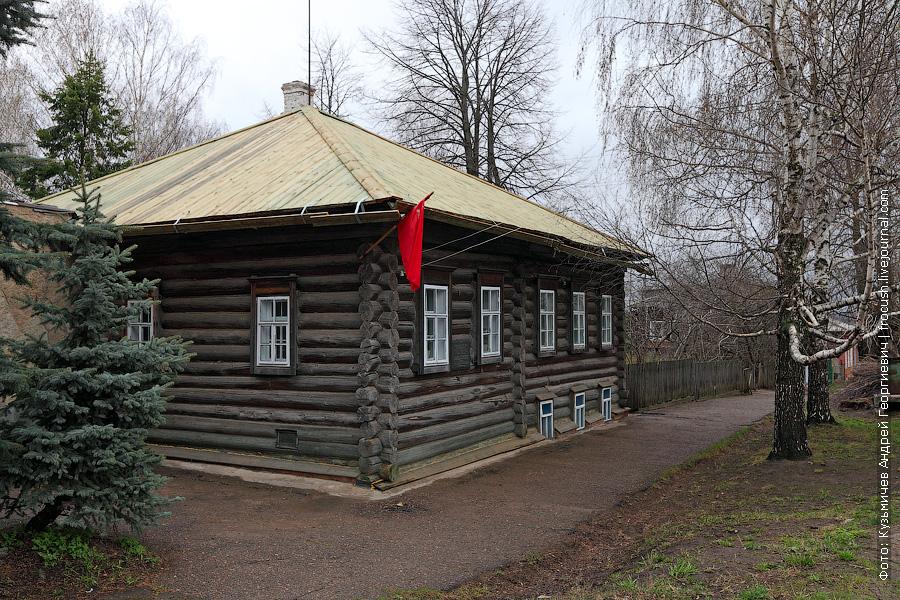 Дом-музей С.М.Кирова, где он провел свое детство