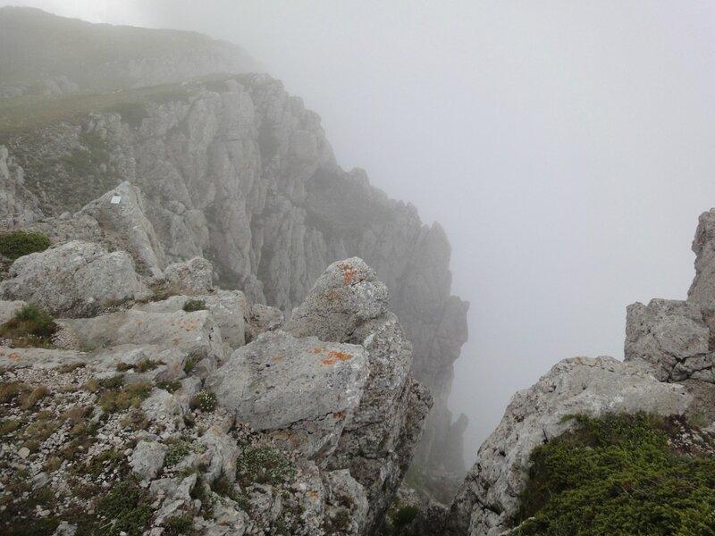 Верхняя точка хребта Чатырдаг- г. Эклизи-Бурун. Крым.