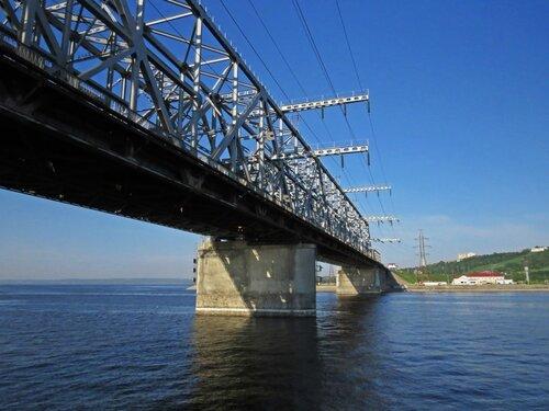 Ульяновский мост через Волгу
