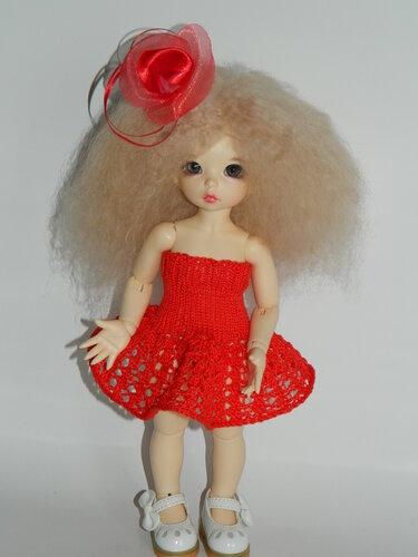 Платье для ЛиттлФи 26 см - 150 руб