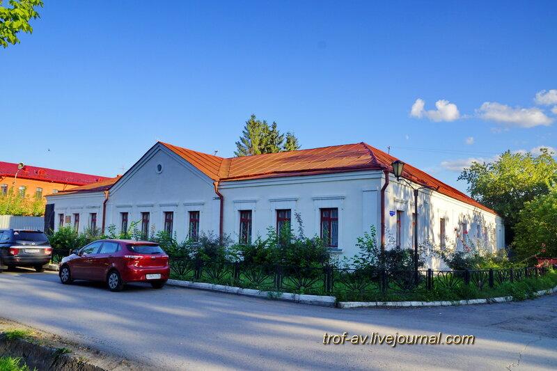 Омский государственный литературный музей Достоевского (коменданский дом, 1799), Омск