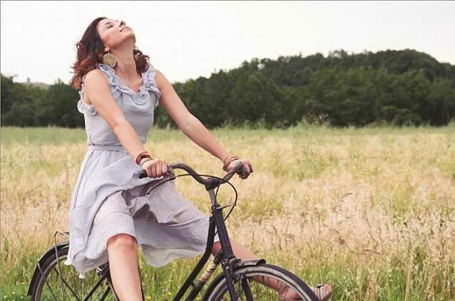 """Велосипедное сиденье для женщин  """"Счастливая поездка"""""""