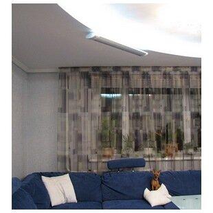 Отопление гостиной в квартире инфракрасным обогревателем ПИОН Люкс 06