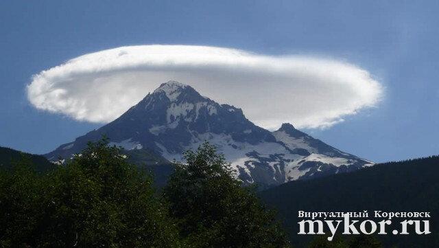 Лентикулярное облако фото