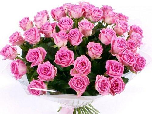 Открытки. С Днем рождения. Розы открытка поздравление картинка