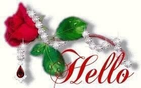 Роза с украшениями открытка поздравление картинка
