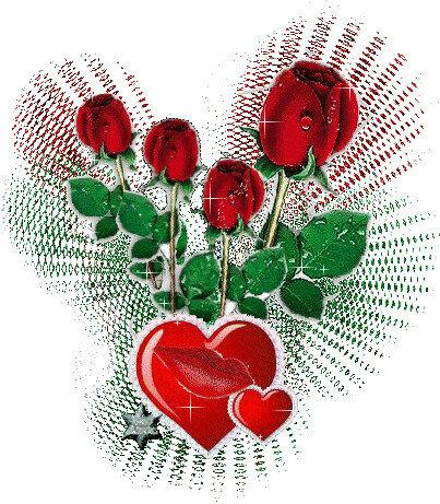 Розы=любовь! открытка поздравление картинка